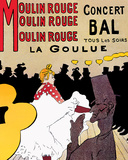 ムーラン・ルージュ ポスター : アンリ・ド・トゥールーズ=ロートレック