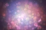 Digitally Generated Purple Abstract Light Spot Design Photographic Print by Wavebreak Media Ltd