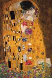 Gustav Klimt - The Kiss (Der Kuss) Plakáty