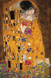 The Kiss (Der Kuss) Poster von Gustav Klimt