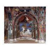 Wall Paintings, in the South Bay of Narthex, St George in Centre Giclee Print by C.l. Doughty