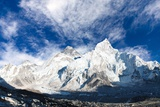 Panoramic View of Mount Everest Photographic Print by Daniel Prudek