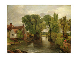 The Mill Stream, 1814-1815 Giclee Print by John E. Ferneley
