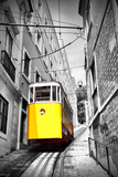 Funicular (Elevador Do Lavra) in Lisbon, Portugal Prints by  Zoom-zoom