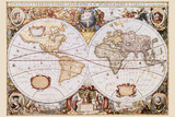 Map - Map of the World Plakat