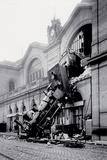 Paris-Gare Montparnasse Obrazy