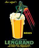 Brasserie Lengrand Plakater