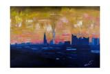 Hamburg Skyline with Elbe Philharmonic Hall Giclee Print by Markus Bleichner