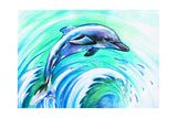 Dolphin Schilderijen van  DannyWilde