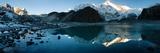 View of Cho Oyu Mirroring in Lake - Cho Oyu Base Camp - Everest Trek - Nepal Poster by Daniel Prudek