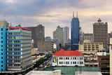 Nairobi, Central Business District and Skyline Photographic Print by Oleg Znamenskiy