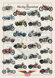 Harley-Davidson Legend Posters