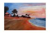 varadero, beach Giclee Print by Martina Bleichner