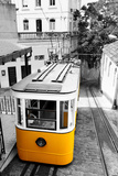 Funicular (Elevador Do Lavra) in Lisbon, Portugal Photographic Print by  Zoom-zoom