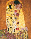 Gustav Klimt - The Kiss (Der Kuss) Plakát