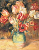 Renoir - Vase with Tulips Posters