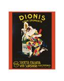 Dionis Gran Spumante Posters