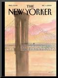 The New Yorker Cover - December 4, 2000 Mounted Print by Jean-Jacques Sempé