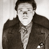 Orson Welles Photographed after the Broadcast of a Dramatization of 'The War of the Worlds' Photographic Print by H.G. Wells