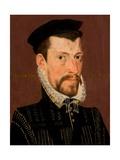 Portrait of a Nobleman, 1556 Giclee Print by Pieter Jansz. Pourbus