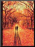 The New Yorker Cover - November 9, 2009 Mounted Print by Eric Drooker