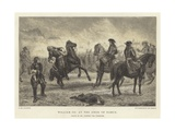 William III at the Siege of Namur, Death of Mr Godfrey the Financier Giclee Print by J.M.L. Ralston