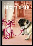 The New Yorker Cover - September 27, 2004 Mounted Print by Ana Juan