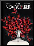 The New Yorker Cover - March 29, 2010 Mounted Print by Ana Juan