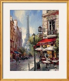 Tour De Eiffel View Posters by Brent Heighton