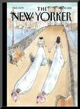 The New Yorker Cover - July 25, 2011 Mounted Print by Barry Blitt