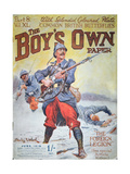 French Foreign Legion in Wwi, Cover of the Boy's Own Paper, June 1918 Giclee Print by Stanley L. Wood