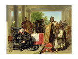 Charles V, at the Monastery of Yuste Giclee Print by Alfred W. Elmore