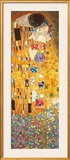 The Kiss - Golden Metallic Ink Prints by Gustav Klimt