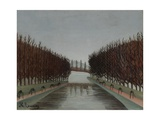 Le Canal, C.1905 Giclee Print by Henri J.F. Rousseau