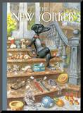 The New Yorker Cover - April 30, 2012 Mounted Print by Peter de Sève