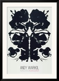 Rorschach Print by Andy Warhol