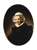 Portrait of a Lady Giclee Print by Rembrandt Harmensz. van Rijn
