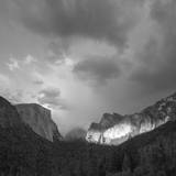 Yosemite Valley Sunset Photographic Print by Anna Miller