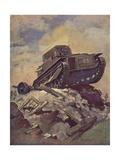 A Tank Giclee Print by J. Allen Shuffrey