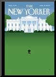 The New Yorker Cover - April 27, 2009 Mounted Print by Bob Staake