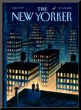 The New Yorker Cover - October 25, 2010 Mounted Print by Eric Drooker