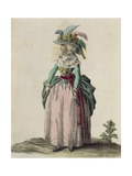Middle-Class Woman from London, 1787 Giclee Print by T. Dart Walker