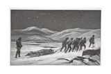 Our First Funeral, January 20, 1884, Pub London 1886 Giclee Print by J. Steeple Davis