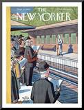 The New Yorker Cover - September 12, 1942 Mounted Print by Peter Arno