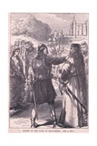 Arrest of the Duke of Gloucester Giclee Print by Mary L. Gow