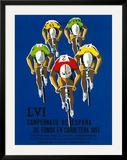 Cameonato de Espana de Fondo en Carretera, 1957 Posters