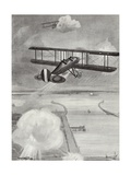Squadron-Leader Richard Davies and Flight-Lieutenant Richard Peirse Dropping Bombs Giclee Print by W. Avis
