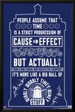 Doctor Who - Wibbly Wobbly Quote Poster