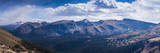 Rocky Mountains Range View from Trail Ridge Road, Rmnp, Colorado Photographic Print by Anna Miller