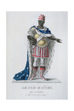 Grand Master of the Order of the Star of Notre-Dame Giclee Print by J. C. Bar